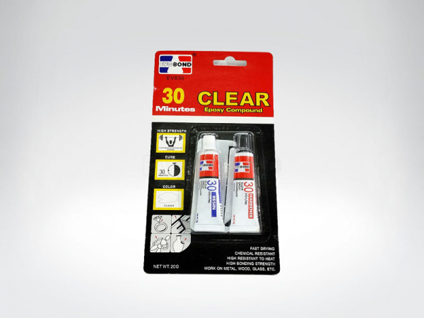 30 MINUTES CLEAR EPOXY COMPOUND